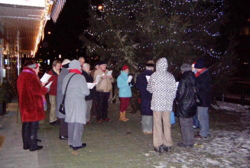 Kerstboomzingen 2009