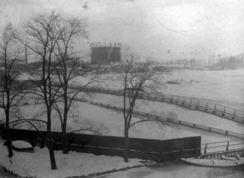 Zwembad in de Biltsche Grift 1924
