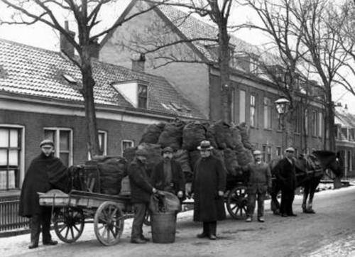 Blauwkapelseweg rond 1915