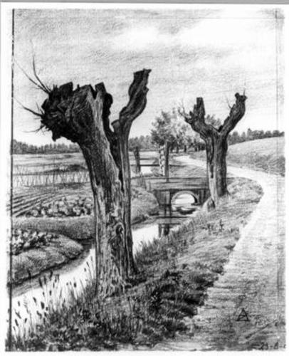 Tekening 1900