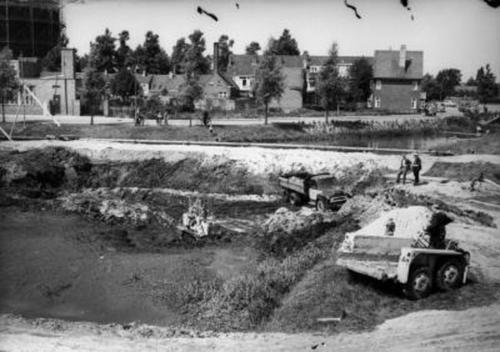 De Ezelsdijk in 1958