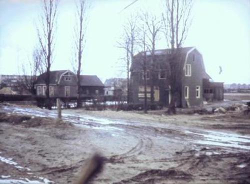 Huizen aan de Ezelsdijk 1962