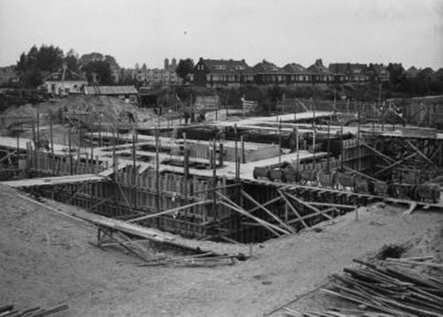 Het tolhuis in 1958
