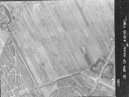 Luchtfoto 1943 Ezelsdijk