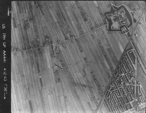 Luchtfoto 1943 Tuindorp