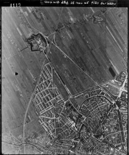 Luchtfoto 1945